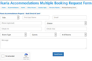Multiple Request Accommodation Search Form