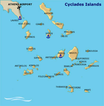 Cyclades Islands Yacht Charter