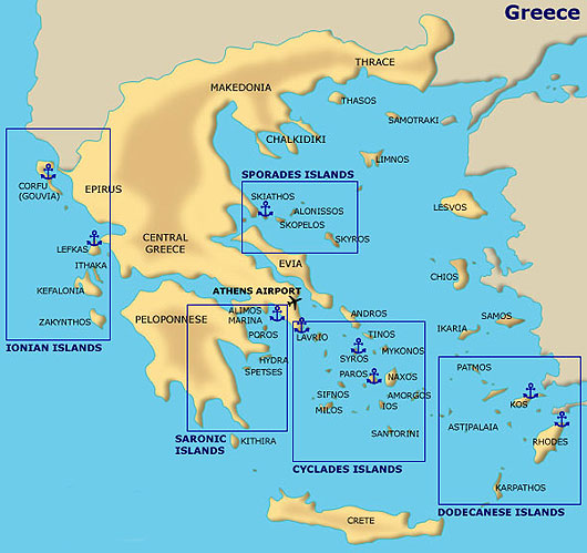Image result for islands of greece