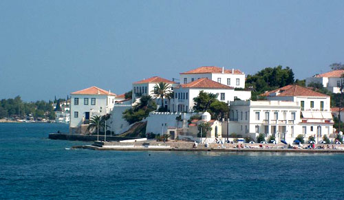 Roumani Hotel On Spetses Island Greece