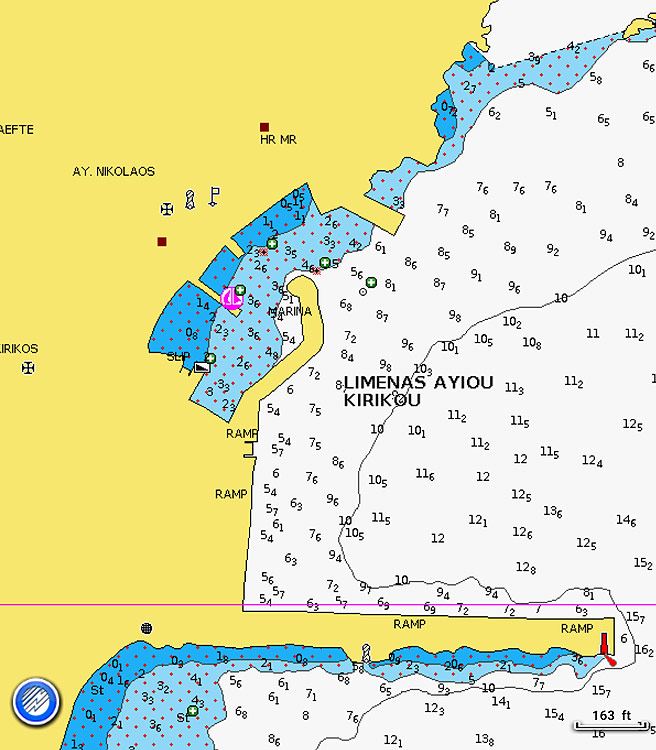 Ikaria Maps Interactive Nautical and Historical Maps of Island Ikaria